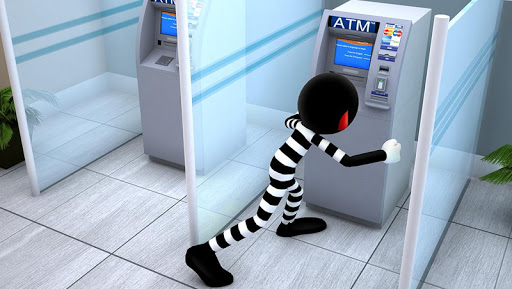 Stickman Bank Robbery Escape  screenshots 11