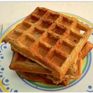 Oatmeal Blender Waffles