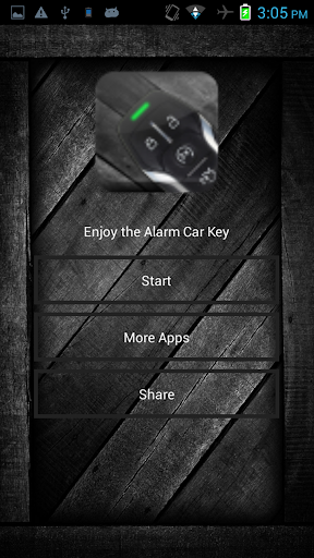 Alarm Car Key Prank