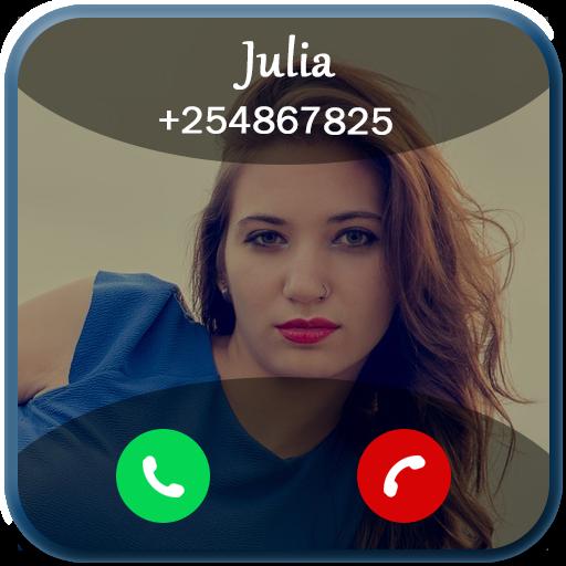 Full screen incoming Call