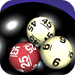Power Ball 3D, Mega Millions, Super Lotto lottery icon