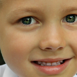 Najus by Stephanie Veronique - Babies & Children Child Portraits ( child, good looking, face, micro, gorgeous, blue eyes, visage, head, people, boy, portrait, kid,  )