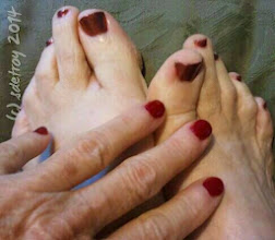 Photo: Grateful for a playful toe and fingernail painting.