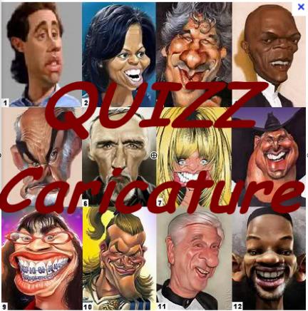 Quiz Caricature