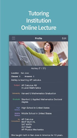 android TBOOK - All about Tutoring Screenshot 1