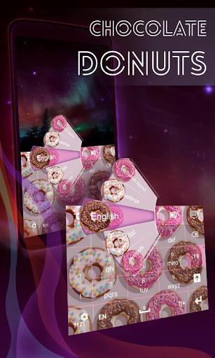 巧克力甜甜圈键盘