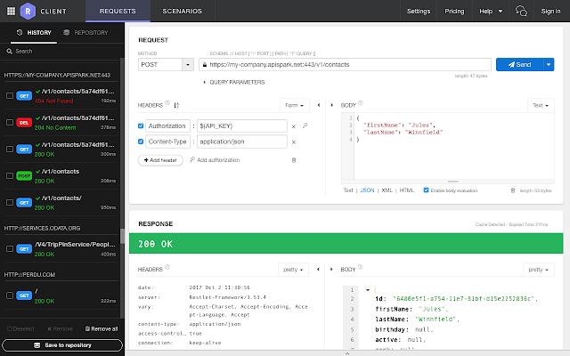 Restlet Client - REST API Testing