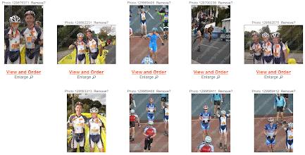 Photo: Vignettes photos de course de Charles.