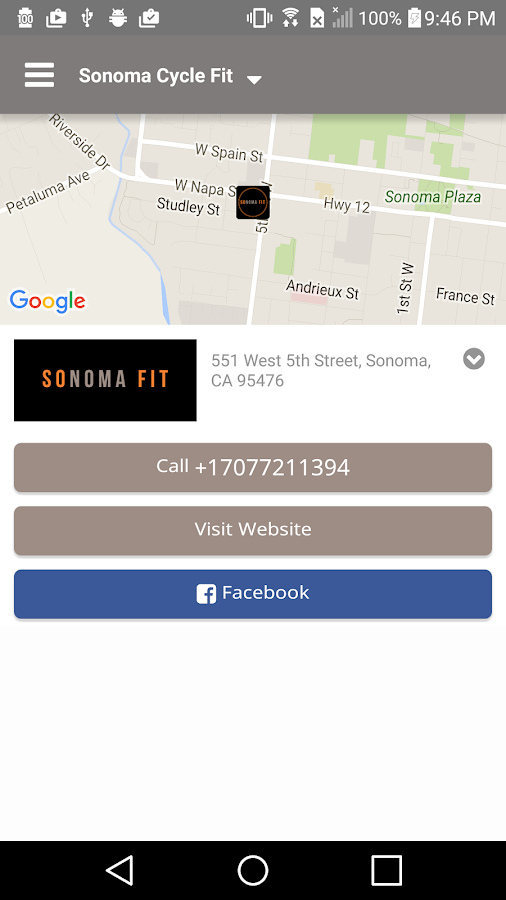 Sonoma Fit- screenshot