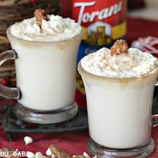 Chestnut Praline White Hot Chocolate.