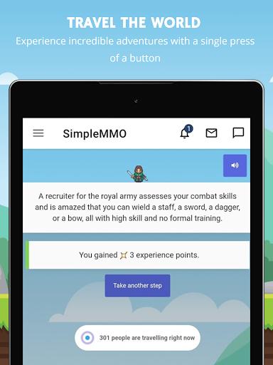 SimpleMMO - The Lightweight MMO apktram screenshots 7