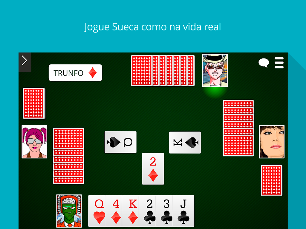 Sueca Online- screenshot