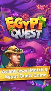Egypt Quest – Gem Match 3 Game 1