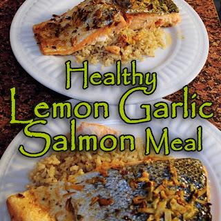 Healthy Citrusy Garlic Salmon Recipe