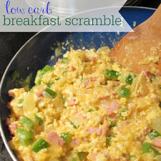 Low Carb Breakfast Scramble Recipe