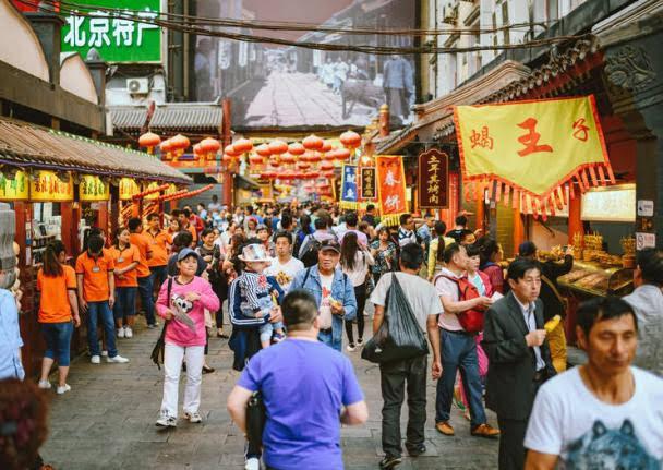 Mercado Noturno de Donghuamen