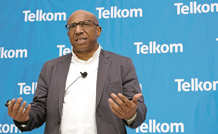 Telkom CEO Sipho Maseko. Picture: BUSINESS DAY