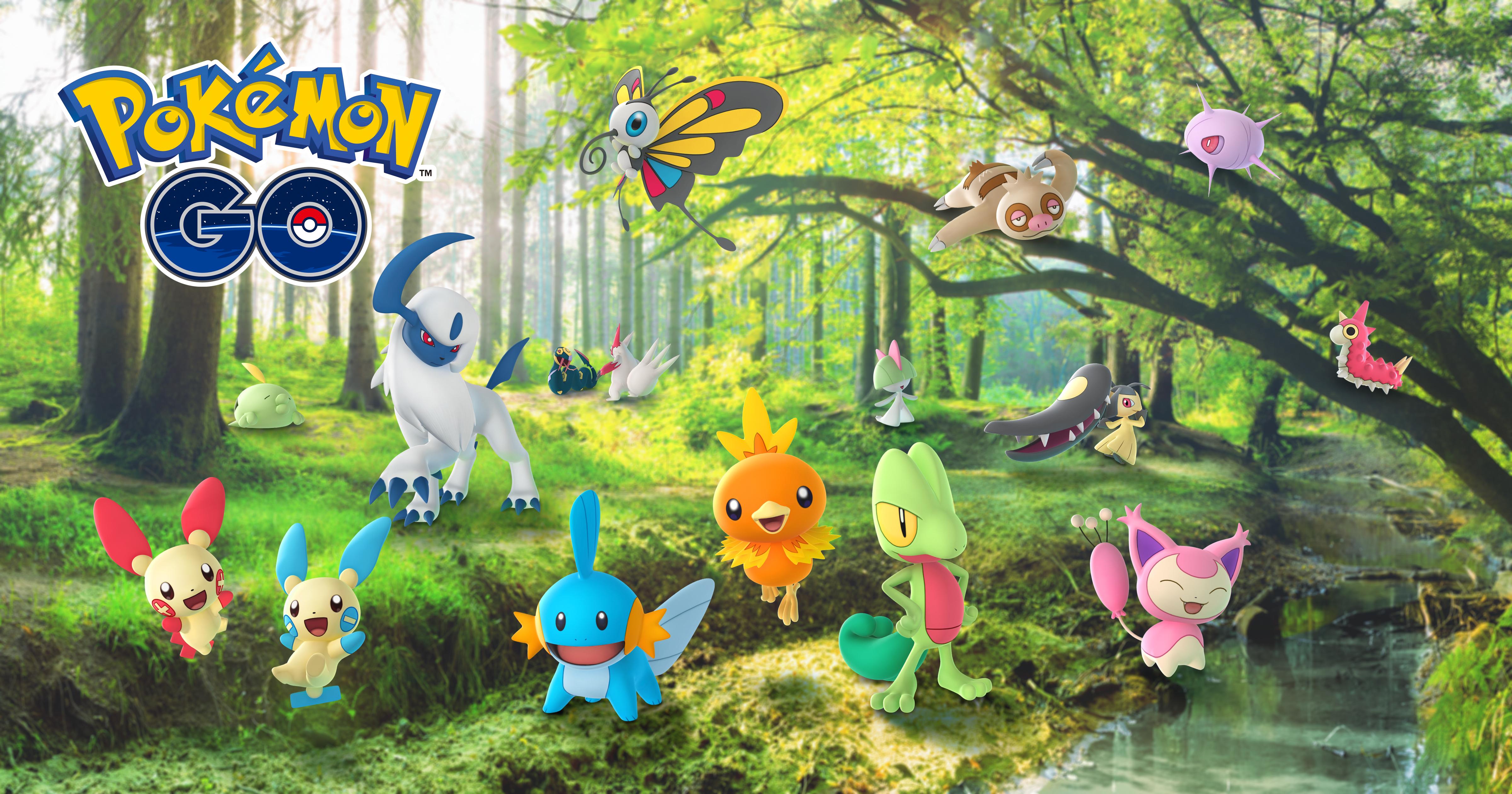 Countdown to Pokémon GO Tour: Kanto—celebrate the Hoenn region with us!