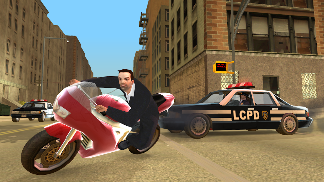 GTA: Liberty City Stories Android App Screenshot
