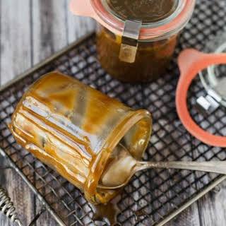 Homemade Butterscotch Sauce.