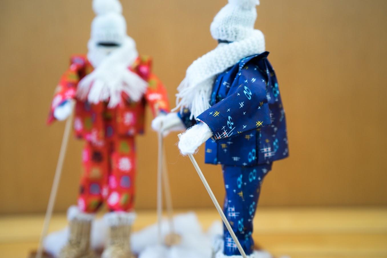 手編みの手袋