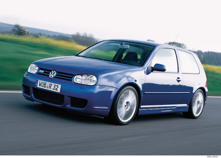 The Mk4 R32 is quite possibly the best looking performance Golf ever built.
