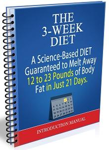 Pop up 3 week diet 50 lbs
