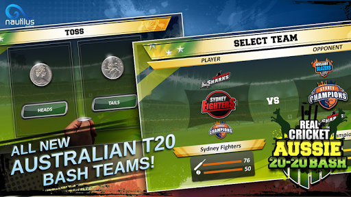 Real Cricket u2122 Aussie 20 Bash 1.0.7 screenshots 5