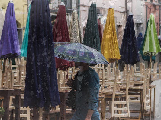 Vernazza e la pioggia di Navarro