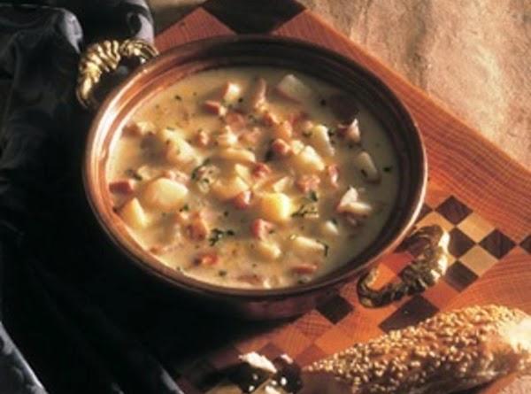 Chunky Potato Soup Recipe