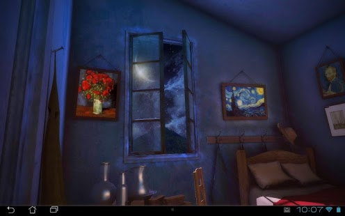 Art Alive: Night 3D Pro lwp Screenshot