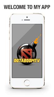 DotaBoomTV - náhled