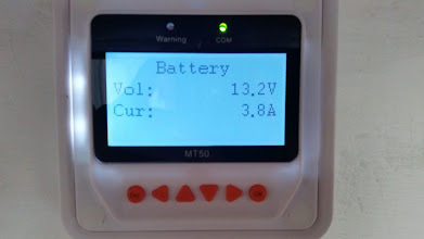Photo: [Device replaced with a Victron unit now] MT50 Remote Meter Battery detail screen