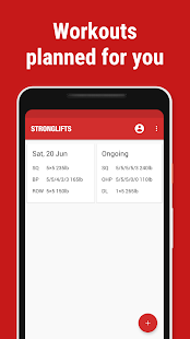 Stronglifts 5x5 - Weight Lifting & Gym Workout Log - Apps on Google Play