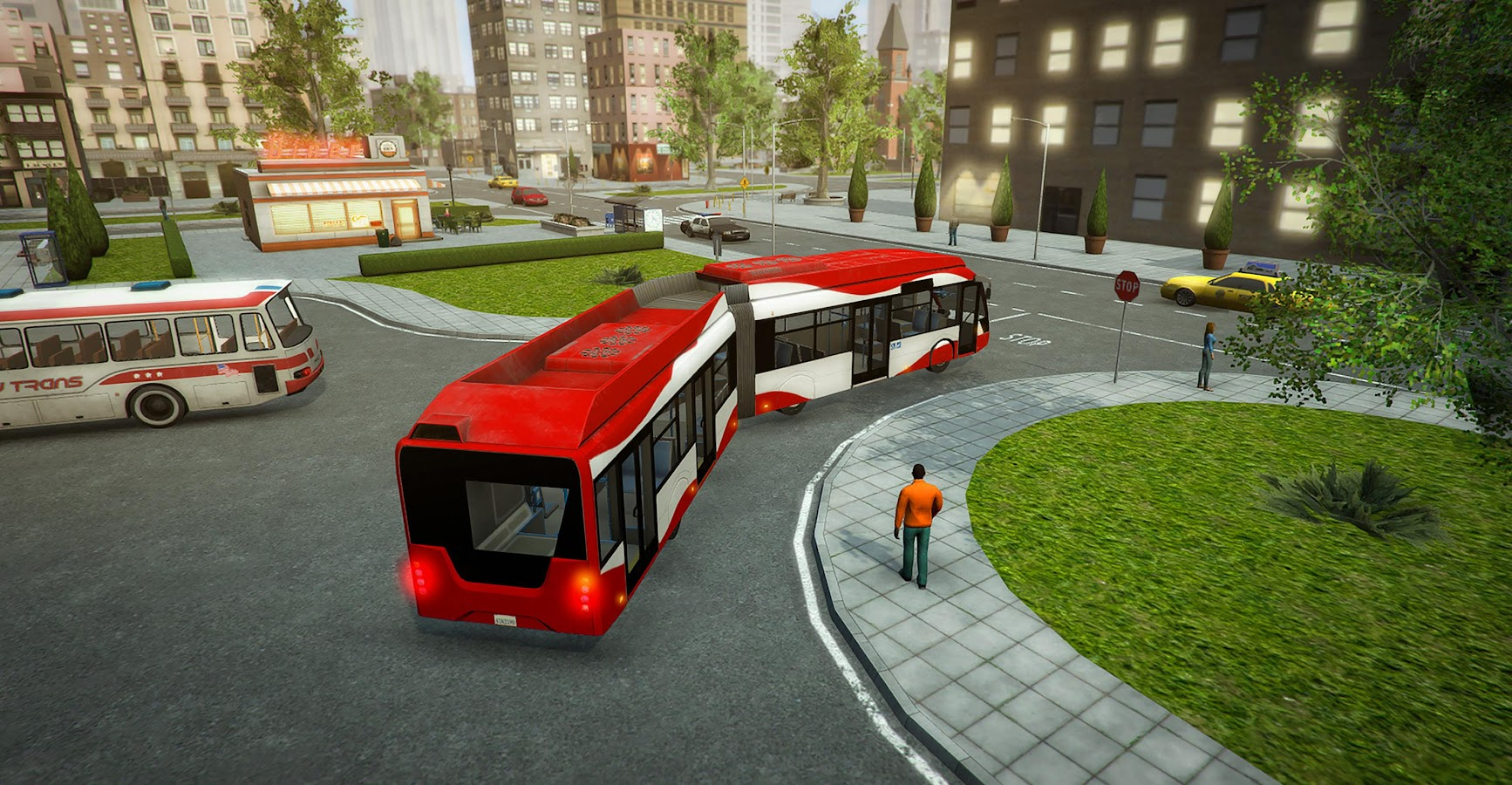 Bus Simulator PRO 2017- screenshot