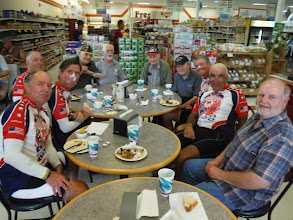 Photo: Lunch with the Last Man Club. Lunch was provided by Glen's Bakery and Deli free of charge