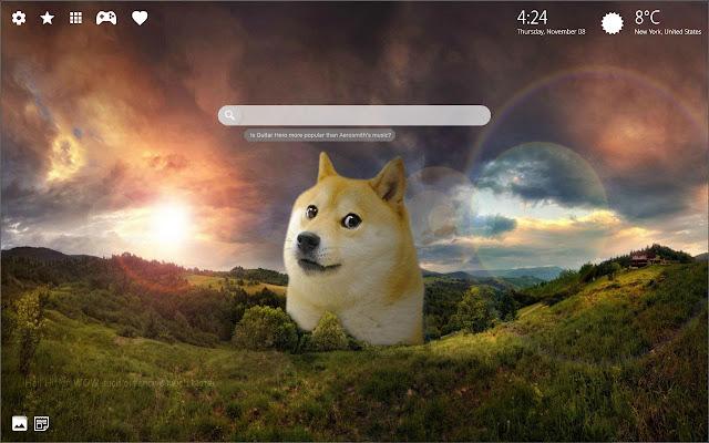 2048 Doge Meme Wallpapers HD New Tab