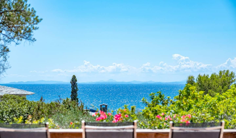 Seaside villa and garden Porto-Vecchio