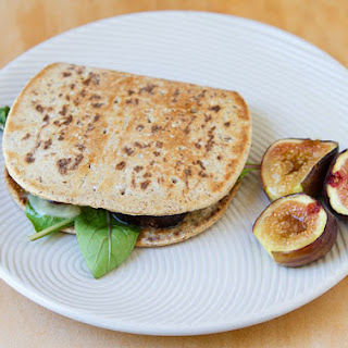 Fig & Jarlsberg Flatbread Sandwich