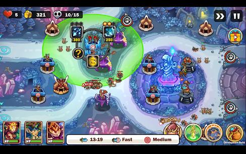 Kingdom Defense: Hero Legend TD MOD (Unlimited Gold/Gems) 8