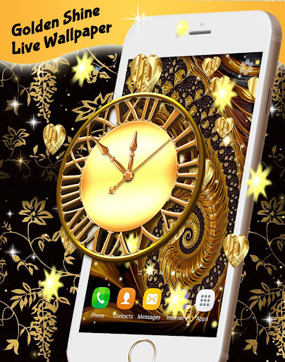 Golden Shine Live Wallpaper