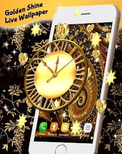 Golden Shine Live Wallpaper - náhled