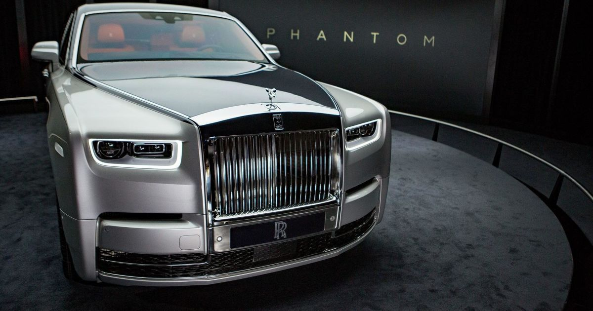 Rolls-Royce Phantom фото