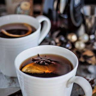 Mulled Ale with Spices and Brandy.