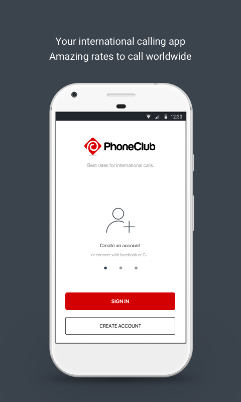 PhoneClub – Best Calling Rates- screenshot