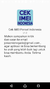 Cek IMEI Ponsel Indonesia - náhled