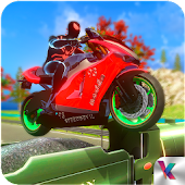 Super Spider Motorbike Rider - Traffic Race