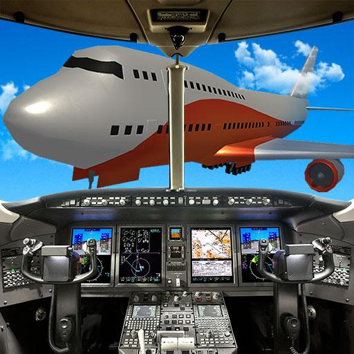 Big Airplane Flight Pilot Sim 模擬 App LOGO-硬是要APP