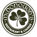 Logo for Mcdonough's Restaurant & Lounge