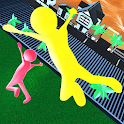 Stick Man Fighting: Flat Fall On The Floor 2020 icon